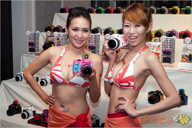 比基尼辣妹 @ Pentax 2010 產品發表會