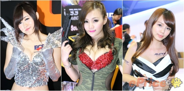 Computex 2014 Show Girls 圖集