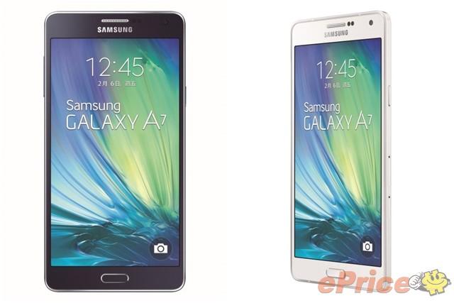 三星金屬薄王 Galaxy A7 二月中登台,建議售價 $15,900