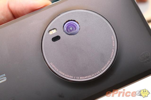 3 倍光學變焦! ZenFone Zoom 相機睇真 D!
