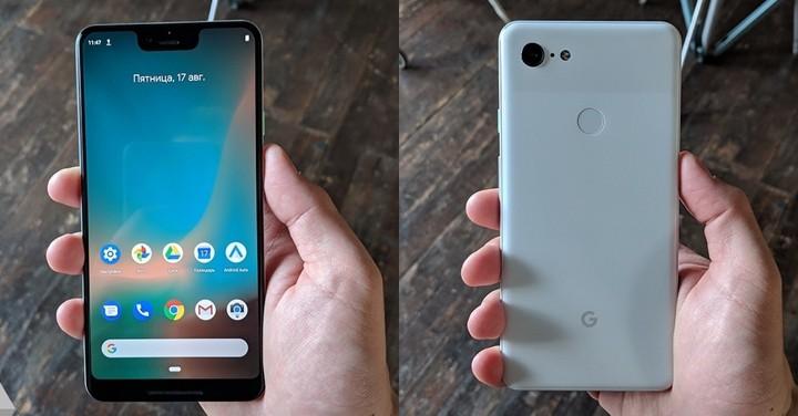 單鏡頭設計、大面積瀏海,Google Pixel 3 XL 超清晰實機照再度曝光