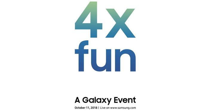 帶來「四倍樂趣」 ,三星確認將在 10/11 揭曉 Galaxy 新機
