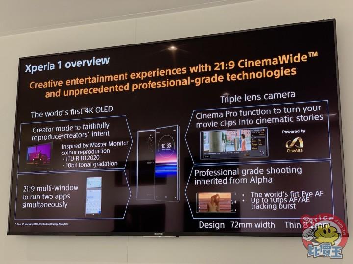 首次搭載 OIS 與三鏡頭:Sony Xperia 1 相機設計解密! - 7