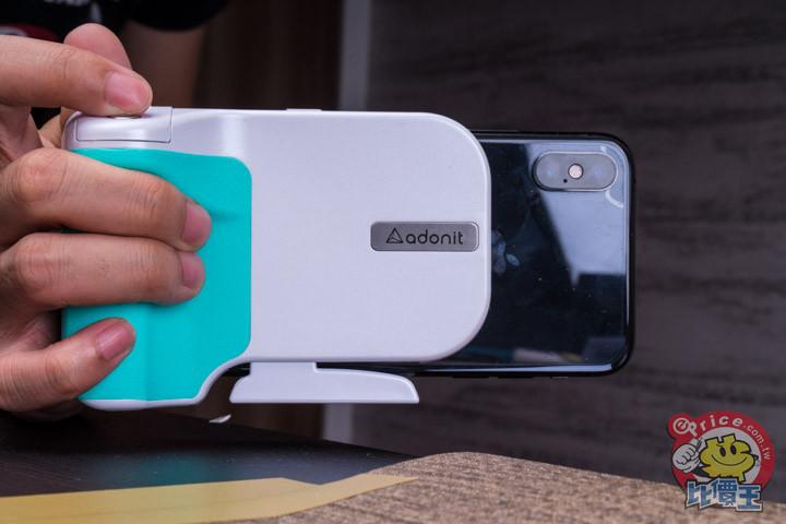 可充電可拍照:Adonit PhotoGrip 無線充電拍照握把開箱分享 - 13