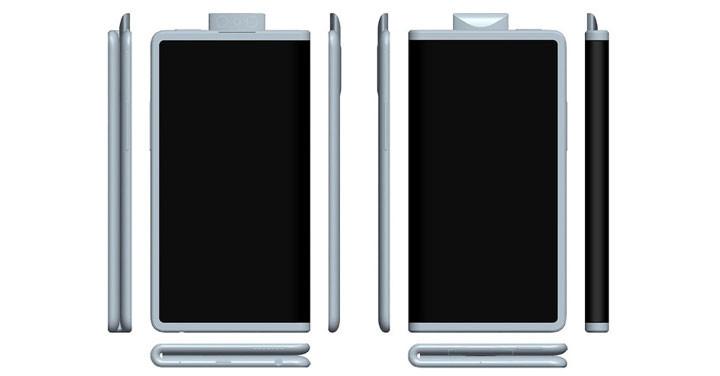 外摺式設計、搭彈出式相機設計,OPPO 可摺疊螢幕機外型設計曝光   - 1