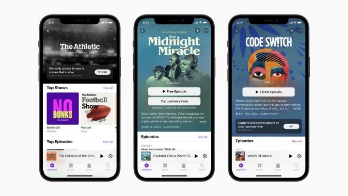 蘋果重新打造 Podcast 服務介面,加入按年付費訂閱功能 - 1
