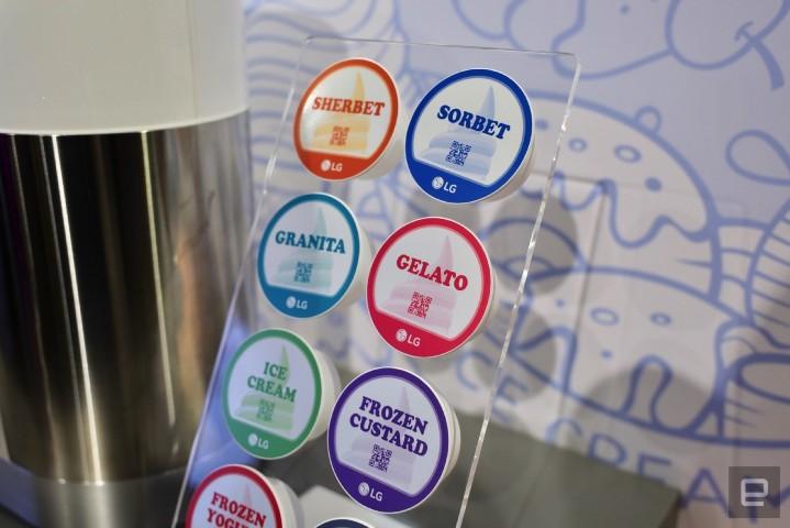 膠囊咖啡機不稀奇,LG 推出了「SnowWhite」膠囊霜淇淋機 - 2