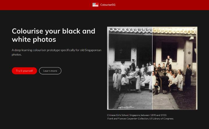 新加坡網站 Colourise.sg 用 AI 幫你把黑白照片自動上色 - 2