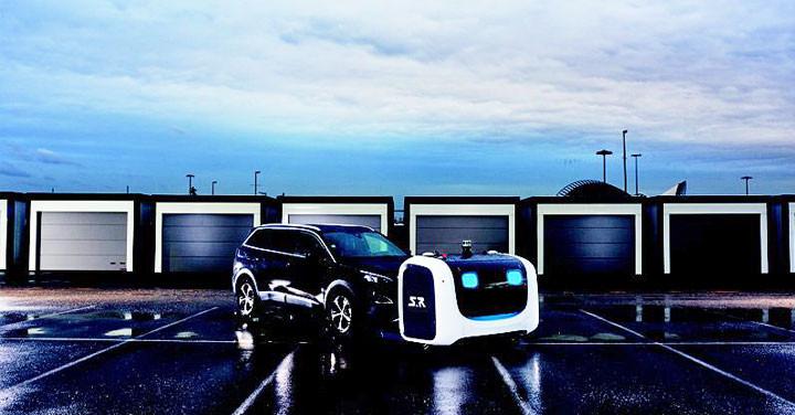 停放車輛更有效率,法國機場正式啟用自動泊車機器人 - 1